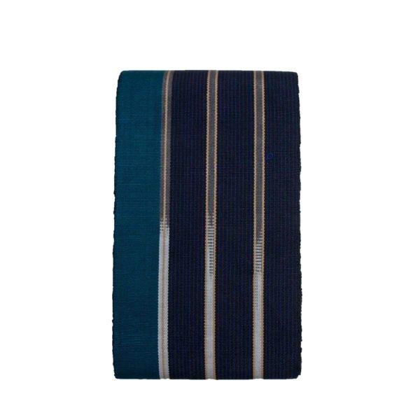 Aso Oke Indigenous Dyed 100027 Black&Green