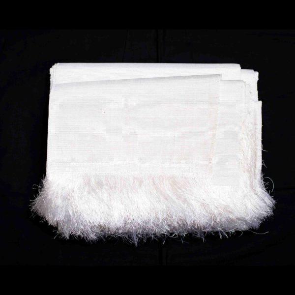 Aso Oke Silk Blouse100605 White