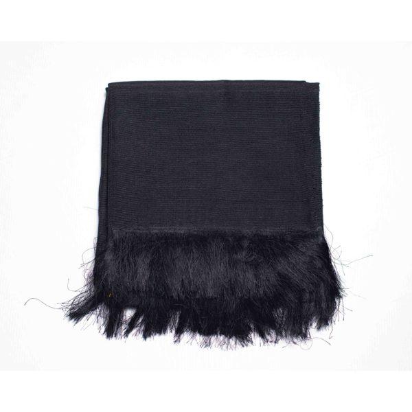 Aso Oke Silk Wrapper 100606 Black