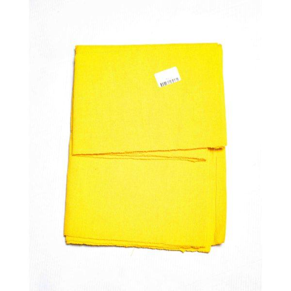 Aso Oke Silk Wrapper 100606 Yellow