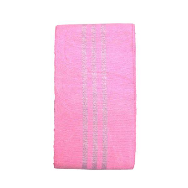 Aso Oke Stripes Cotton Crowntex 100203 Pink