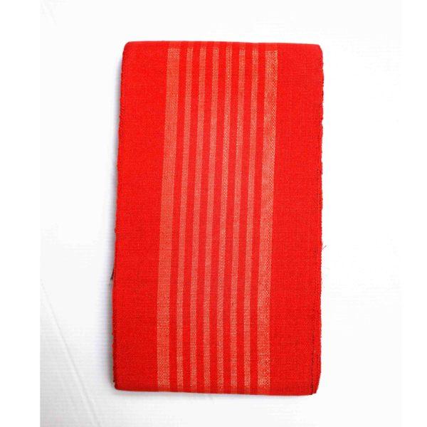 Aso Oke Stripes Cotton Crowntex 100203 Red