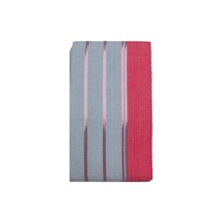 Aso oke Indigenous Dyed 100027 Pink&Grey