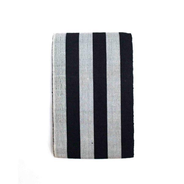 Cone Aso Oke 100035 Black&White