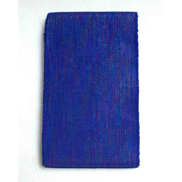 Crowntex Cotton Shining Aso Oke 100021 Royal Blue