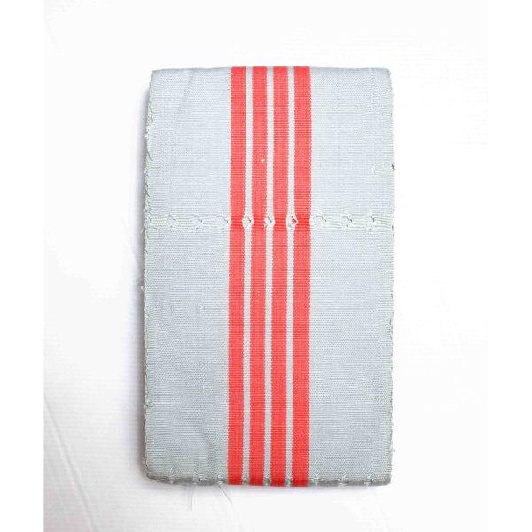 Grey&Pink Perforated Aso Oke