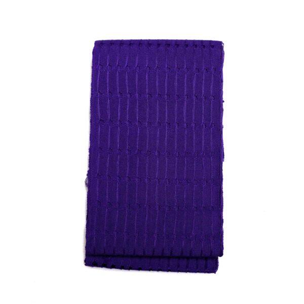 Onjawu Cotton 1 inch Aso Oke 100047 Purple