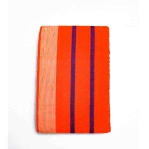 Small Isembaye Aso Oke 100046 Orange&Blue