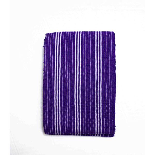 Small Isembaye Aso Oke 100046 Purple&White